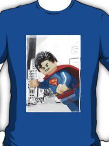 Lego Superman (with border) T-Shirt