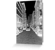 Greenwich Shopping NYC Greeting Card