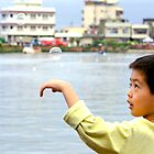 Bubbles in Taiwan by Jeff Harris