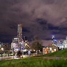 Birrarung Marr by melbourne