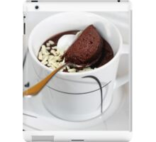 Cardamom-Coffee-Cup of Mousse iPad Case/Skin