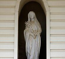 Madona at the Huntsville Monastery  by Deborah  Allen
