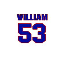 National football player William Compton jersey 53 Photographic Print