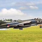 Hawker Hunter F.6A N-294 G-KAXF by Colin Smedley