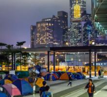 Umbrella Revolution in Hong Kong 2014 Sticker