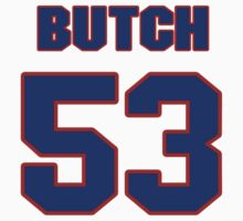 National football player Butch Maples jersey 53 by imsport