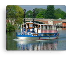 Southern Belle on the Thames Canvas Print