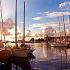 Bergen Harbor by Cassidy Kris