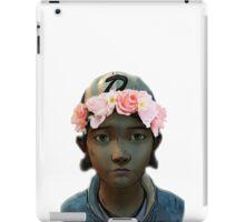 Clementine Flower Crown iPad Case/Skin