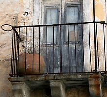 abandoned balcony by keki