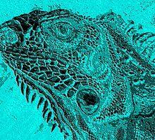 iguana 3 by dnlddean