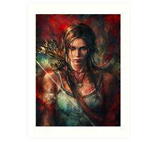 Lara Croft Tomb Raider Reborn Artwork Art Print