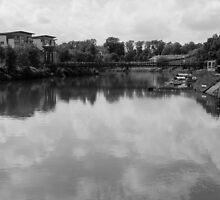 Bridge reflection by Katherine Maguire