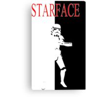 STARFACE Canvas Print