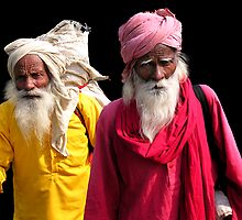 TRAVELERS - INDIA by Michael Sheridan