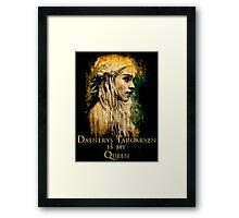 Game of thrones Daenerys Targaryen Queen Framed Print