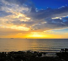 Dublin Bay Sunrise by Michael Walsh