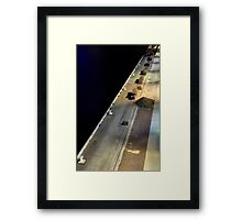 New Topography Framed Print