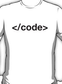 Code tag T-Shirt