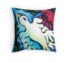BIRD  OF  PERSEPHONE  2 Throw Pillow