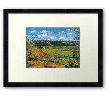 Rural Oxfordshire Framed Print