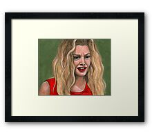No Place Like Home - Glory - BtVS Framed Print