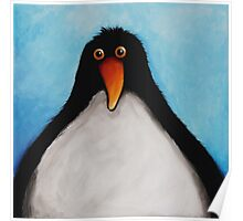 A cuddly Penguin Poster