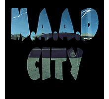 Kendrick Lamar m.A.A.d City Photographic Print