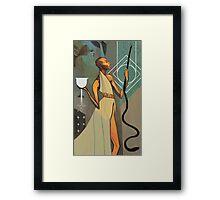 Vivienne Tarot Framed Print