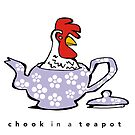 chook in a teapot by Matt Mawson