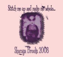 Stitches Bug/PurpleShirt by Sharaya Brooks
