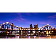 Blue Sky Bridge Photographic Print