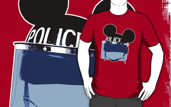 RIOT mickey (Are you a man or a mouse) by nofrillsart