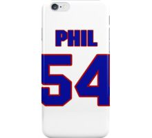 National football player Phil Armour jersey 54 iPhone Case/Skin