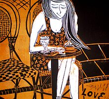 "Love in Paris 2nd Edition by Belinda ""BillyLee"" NYE (Printmaker)"