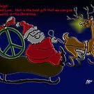 Peace and Love for Chistmas by mago