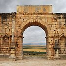 Roman arch by Peter Hammer