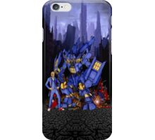 12th Doctor with D4L3K Buster Robot Phone Box iPhone Case/Skin
