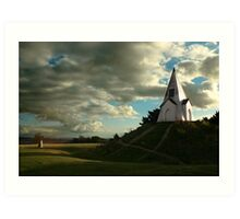 Farley Mount Monument Art Print