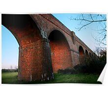 Viaduct Nr Hockley Lights Poster