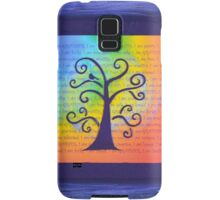 Positive Affirmations - Chakra Colors Samsung Galaxy Case/Skin