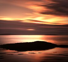 A Scottish Sunset by Linda  Morrison