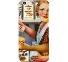 Post Vintage Dinner Lady. iPhone Case/Skin
