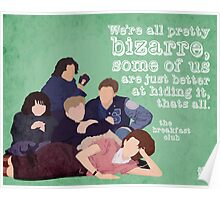 Breakfast Club Quote Poster