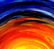 Colorful Abstract Painting Original Art Titled: Morning Glory by ZeeClark