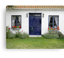 Two Windows and a Door Canvas Print