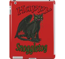 Toothless - Happy Snoggletog iPad Case/Skin