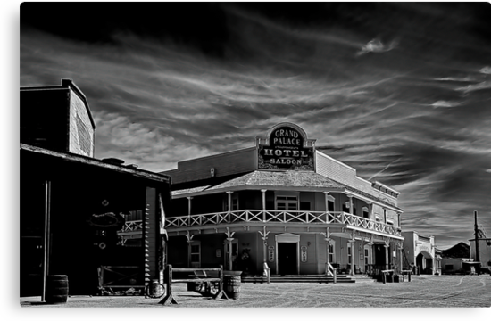Grand Palace Hotel & Saloon by Marvin Collins