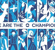 Pokemon League Champions by gizorge