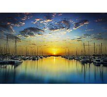 Harbour Dawn Photographic Print